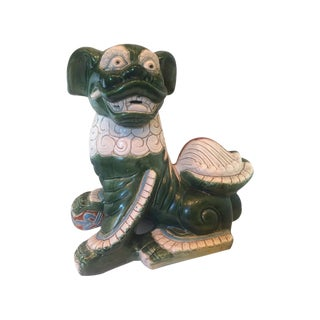 Ceramic Chinese Foo Dog Figurine