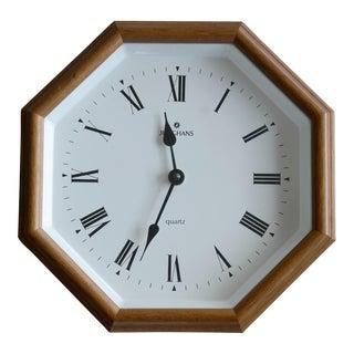 Vintage Junghans Mid-Century German Wall Clock