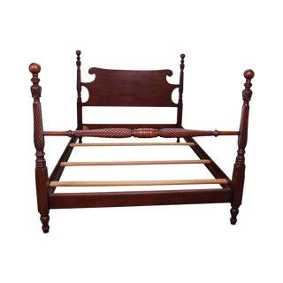 Kindel Mahogany Full Size Cannonball Bed
