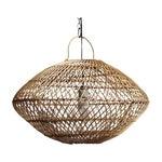 Wicker Basket Lantern Pendant