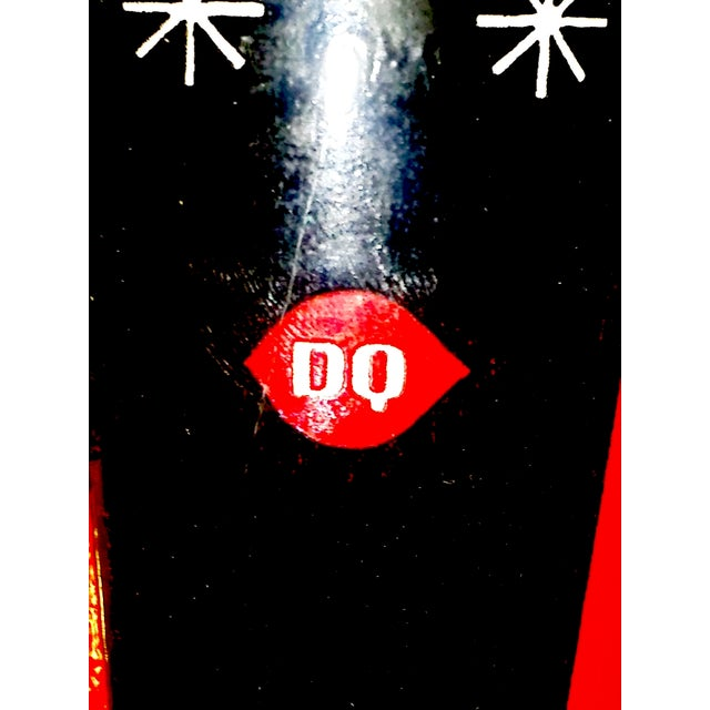 Holt Howard MCM Dairy Queen Christmas Glasses- S/6 - Image 4 of 5