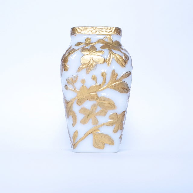 Image of Phoenix Consolidated Glass Co. Art Glass Vase