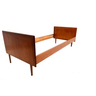 Danish Modern Teak Single Bed