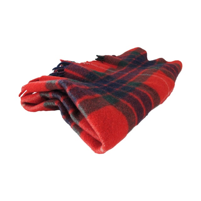 Classic Plaid Wool Blanket - Image 1 of 5