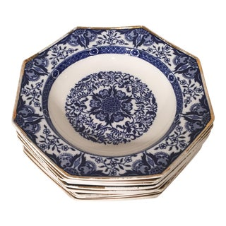 Minton Angular Soup Bowls - Set of 10