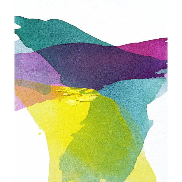 Image of Emerald Summer Abstract Painting