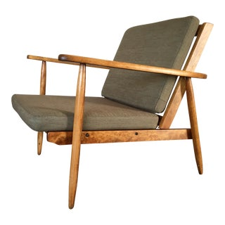Danish Modern Style Lounge Arm Chair