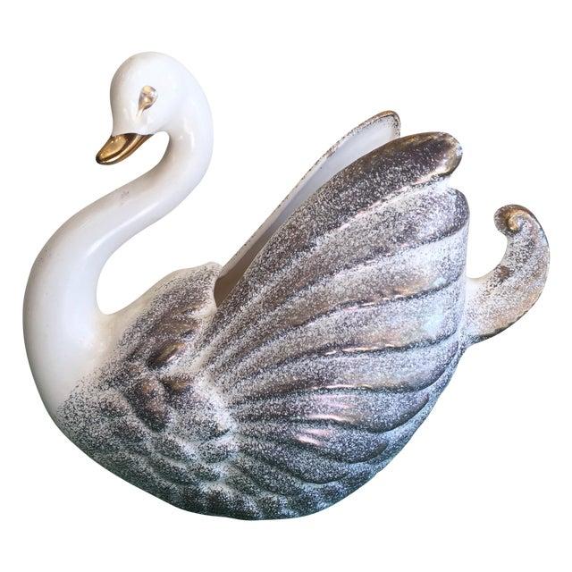 Vintage Swan Vase - Image 1 of 7