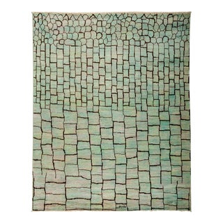 """Moroccan, Hand Knotted Area Rug - 7'10"""" X 9'7"""""""