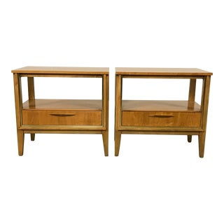 Mid Century Nightstands - a Pair