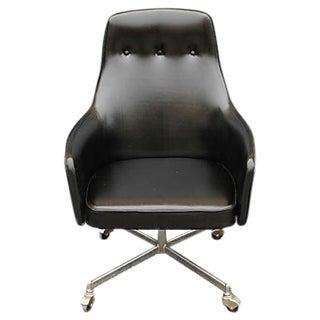 Mid-Century Modern Ultra Futuristic Rolling Desk Chair