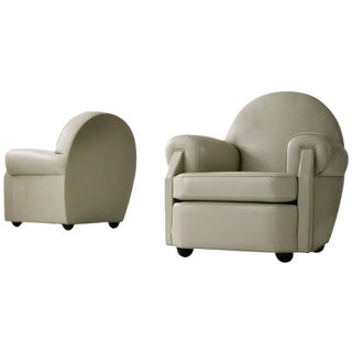 Pair of Vittorio Valabrega Lounge Chairs