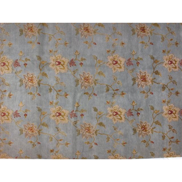 Blue Nepalese Carpet - 8'1'' x 11'' - Image 3 of 4