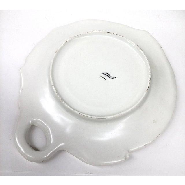 Mid-Century Pink & White Trinket Dish - Image 6 of 9
