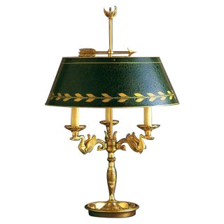 """Empire Table Lamp """"Bouillote"""" Made in France"""
