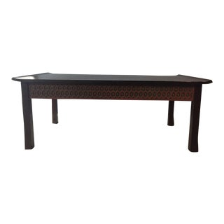 Asian Wood Coffee Table