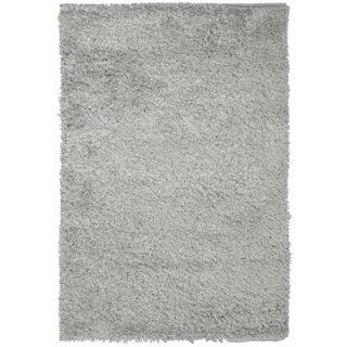 Gray Shag Rug - 5′11″ × 8′8″