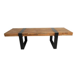 Amazing Mid-century Modern Style Industrial Coffee Table