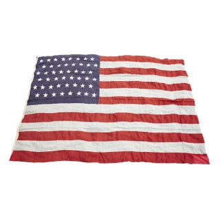 American Flag with 48 Stars