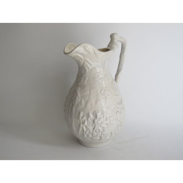 American White Ceramic Wash Basin & Pitcher - Image 8 of 8