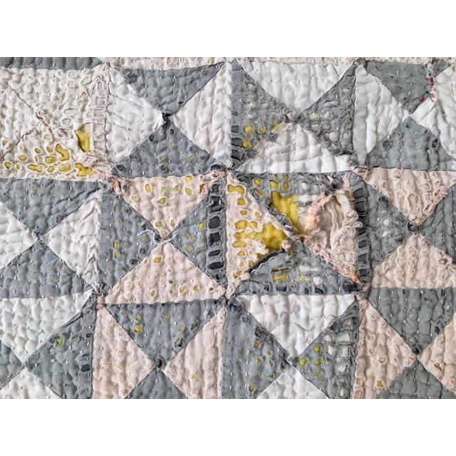 Vintage Handmade Ralli Quilt - Image 6 of 11