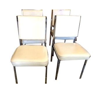 White Vintage Chairs - Set of 4