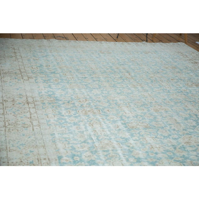 "Distressed Oushak Carpet - 8'10"" X 12'4"" - Image 9 of 10"