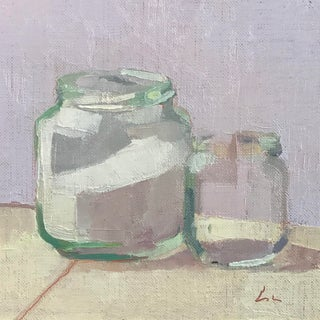 """The Last Two Jars"" Oil Painting on Linen"