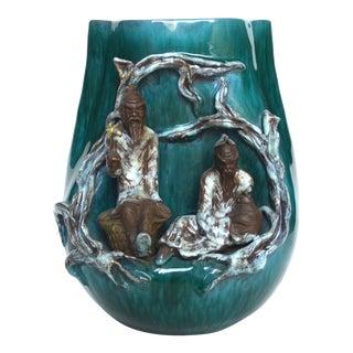 Marcello Fantoni Ceramic Figural Vase