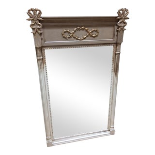 Vintage Two-Toned Mirror With Bows