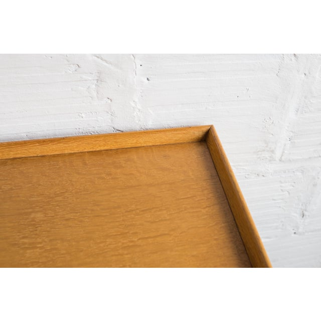 Heals Three Drawer Oak Vanity Desk - Image 6 of 8