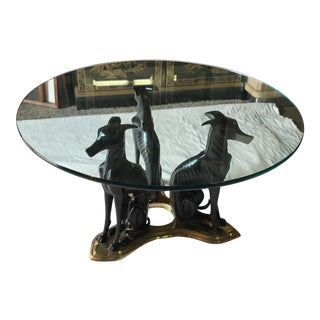 Vintage Maitland Smith Whippet Cocktail Table