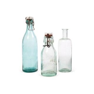 Vintage Bottles - Set of 3