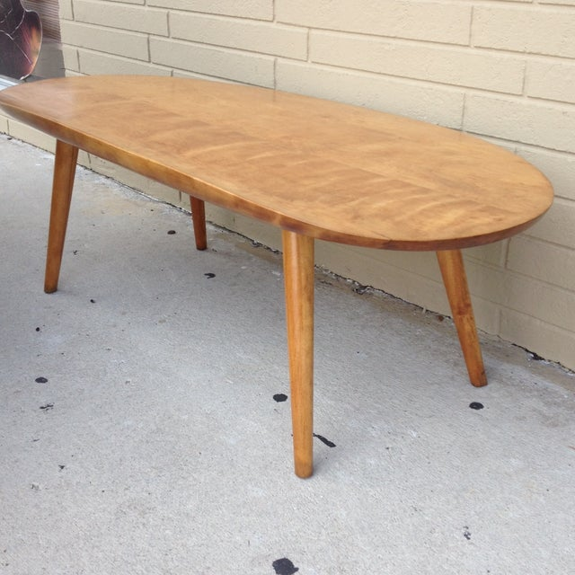 Russell Wright for Conant Ball Surfboard Table - Image 2 of 9