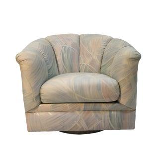 Precedent Mid-Century Modern Swivel Club Chair