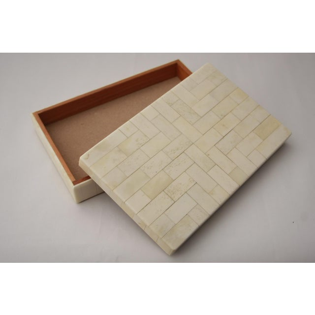 Image of Tessellated Bone Trinket Box