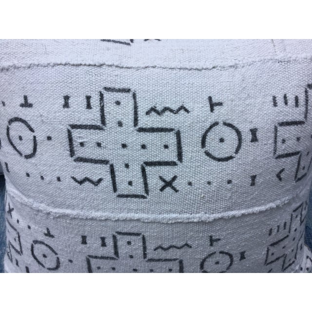 African Tribal Mud Cloth Pillows - A Pair - Image 4 of 6