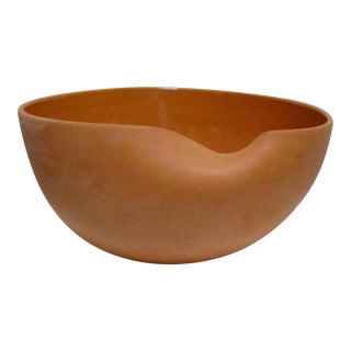 Elsa Peretti for Tiffany & Co. Italian Terracotta Thumbprint Bowl