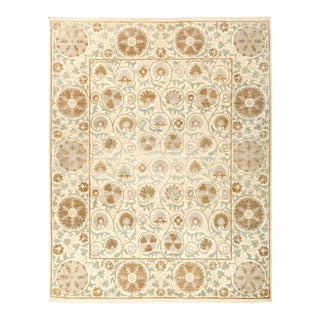 """Suzani Hand Knotted Area Rug - 8' 3"""" X 10' 4"""""""