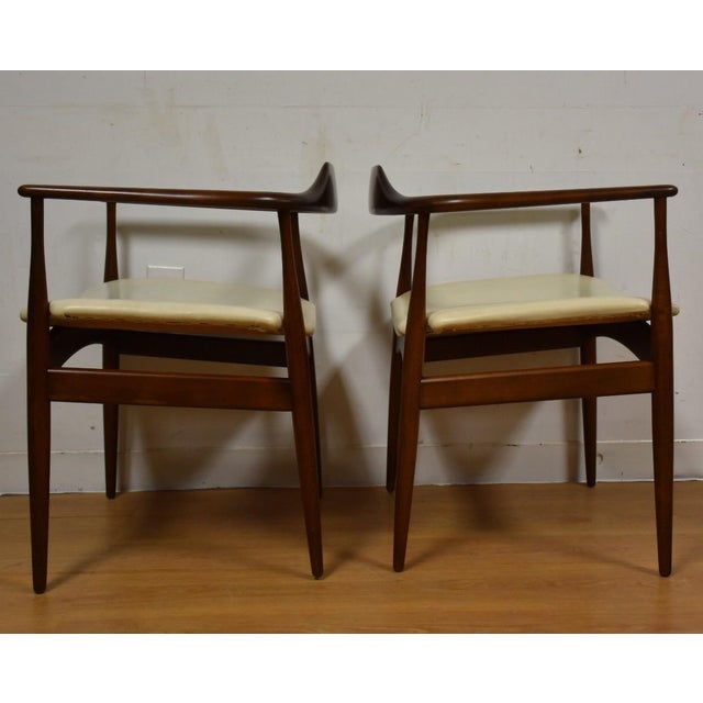 Ib Kofod Larsen for Selig Chairs - A Pair - Image 7 of 11