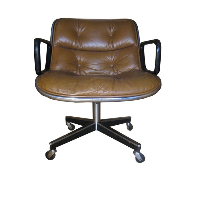 Original Knoll Executive Chair by Charles Pollock - Image 1 of 7