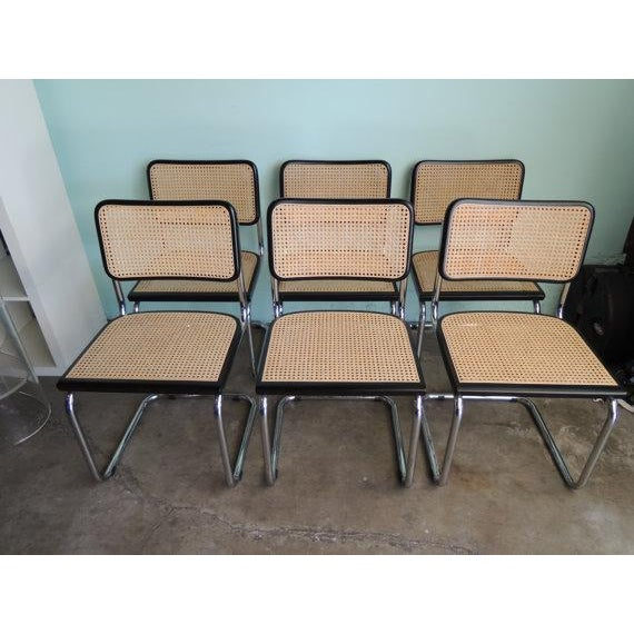 Marcel Breuer Reproduction Cesca Chairs - Set of 6 - Image 4 of 6