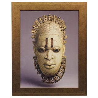 African Mask Photograph