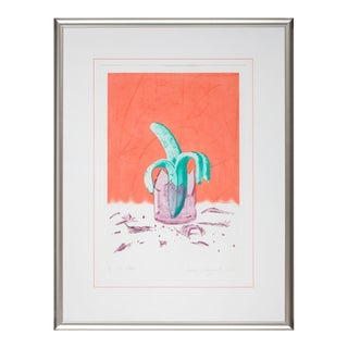 "James Rosenquist ""On Stage"" Pop Art Print"