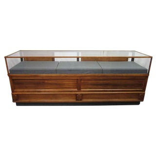 Wooden Glass Storage Showcase or Display Case