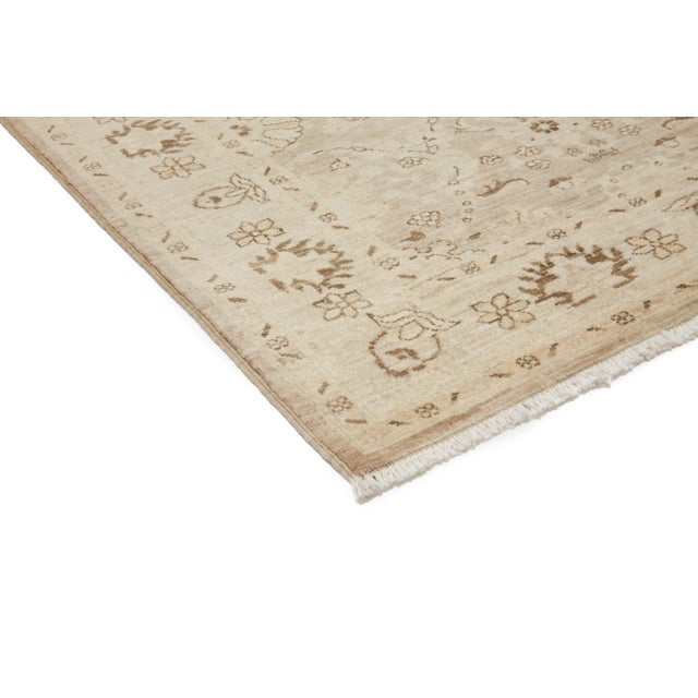 "New Oushak Hand Knotted Area Rug - 5'2"" x 6'3"" - Image 2 of 3"