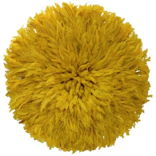 Authentic Saffron Cameroon Juju Hat