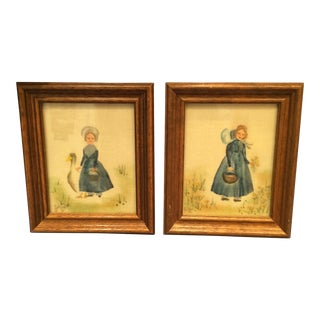 Judy Fjetland Framed Art - A Pair