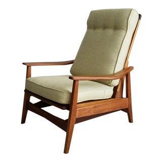 Danish Modern Mid-Century Platform Rocker/Lounge Chair