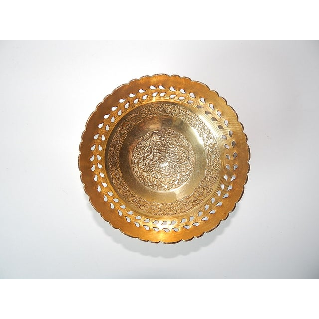 Ambika Brass Bowls - Set of 4 - Image 4 of 8